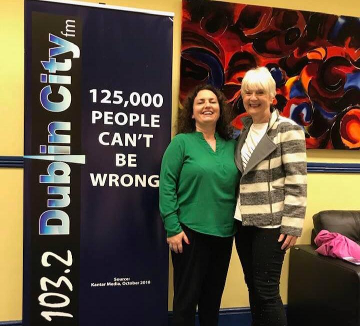 Karen O'Donnell at dublin city fm